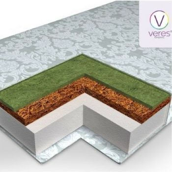 "Матрац Veres ""Hollowfiber LUX"" 10 120*60"
